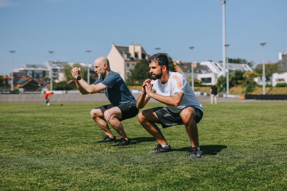 5 exercices renforce musculaire squat face