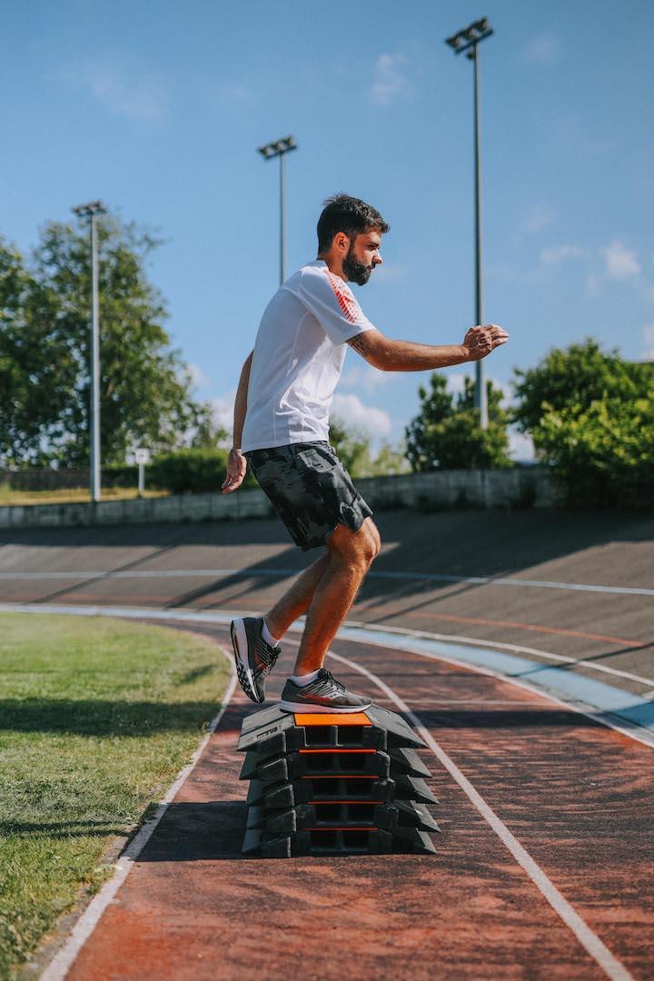 5 exercices renforcement step up mouvement 2