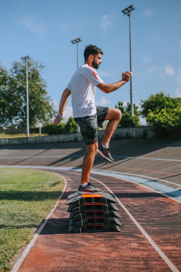 5 exercices renforcement step up mouvement 3