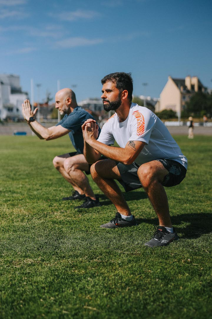 5 exercices squat zoom