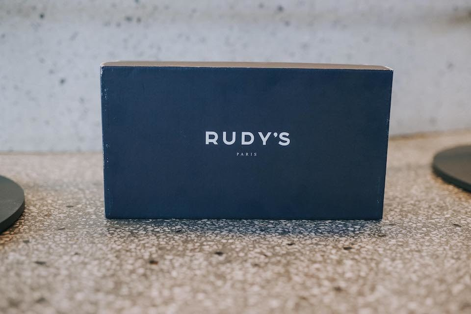 Boite chaussures Rudys packaging