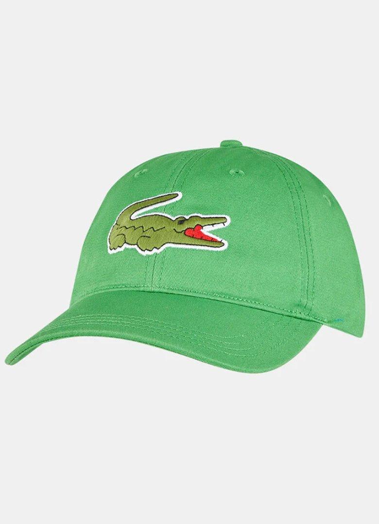 casquette lacoste verte