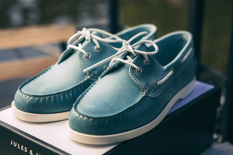 chaussures bateau jules&jenn design