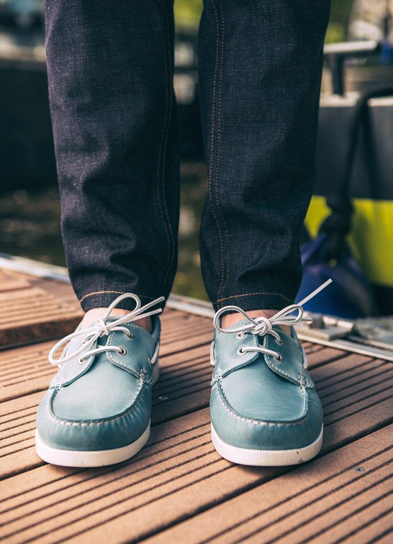 chaussures bateau jules&jenn face
