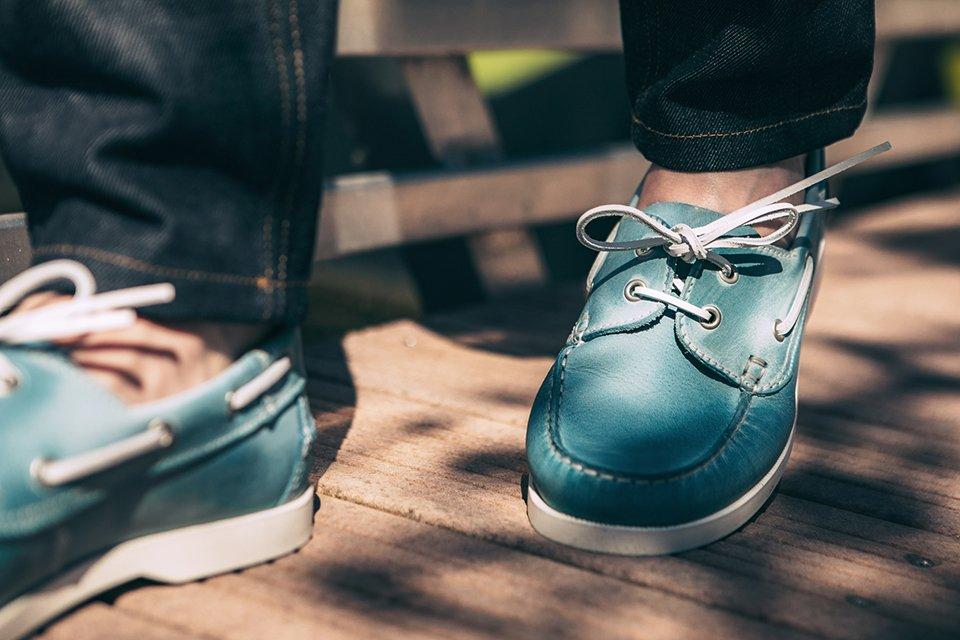 chaussures bateau jules&jenn marche