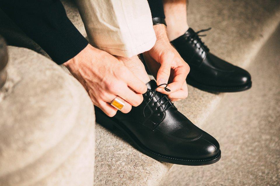 chaussures hardrige derby noir homme