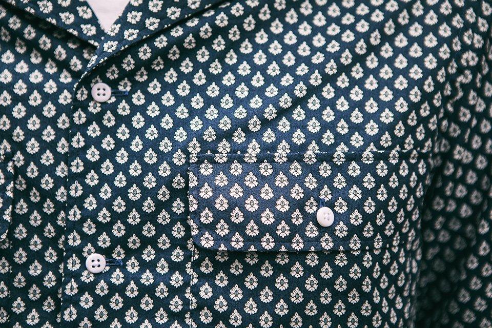 chemise de bonne facture provencal print