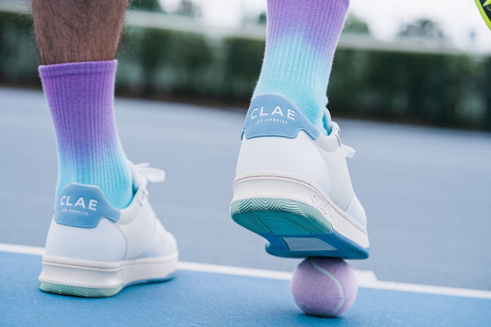 Clae chaussettes sneakers dos