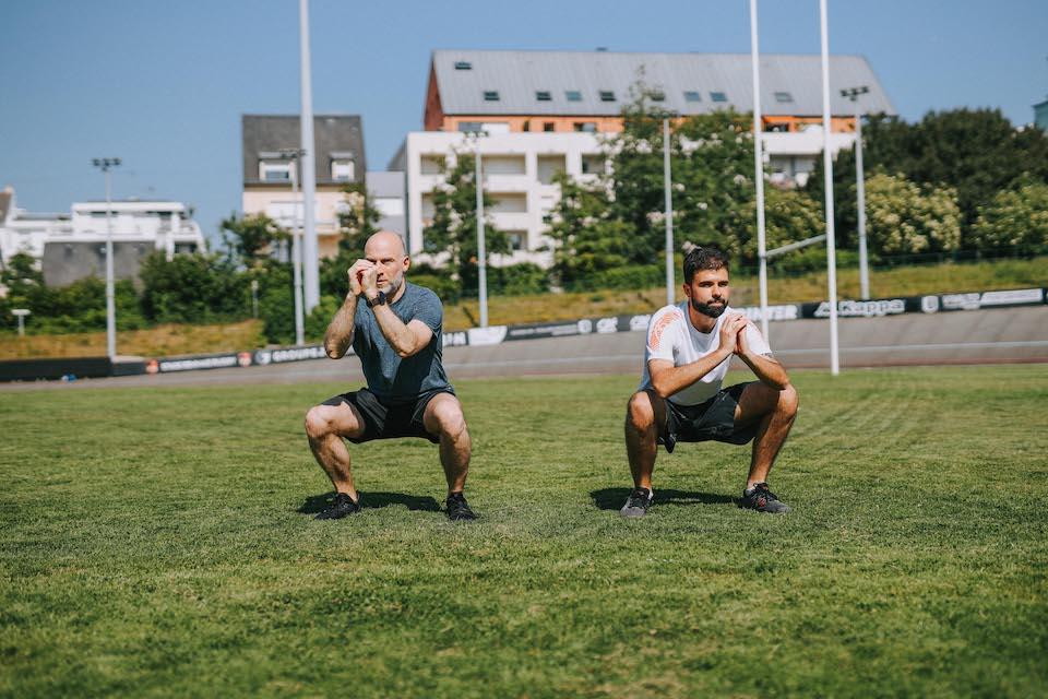 Exo renforcement squat mouvement 1