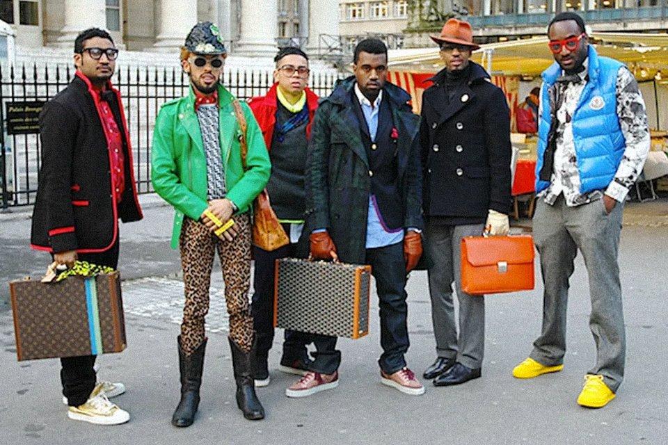 kanye west et virgil abloh paris fashion week