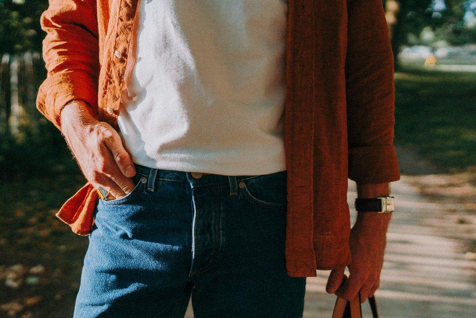 Look libre homme chemise jean