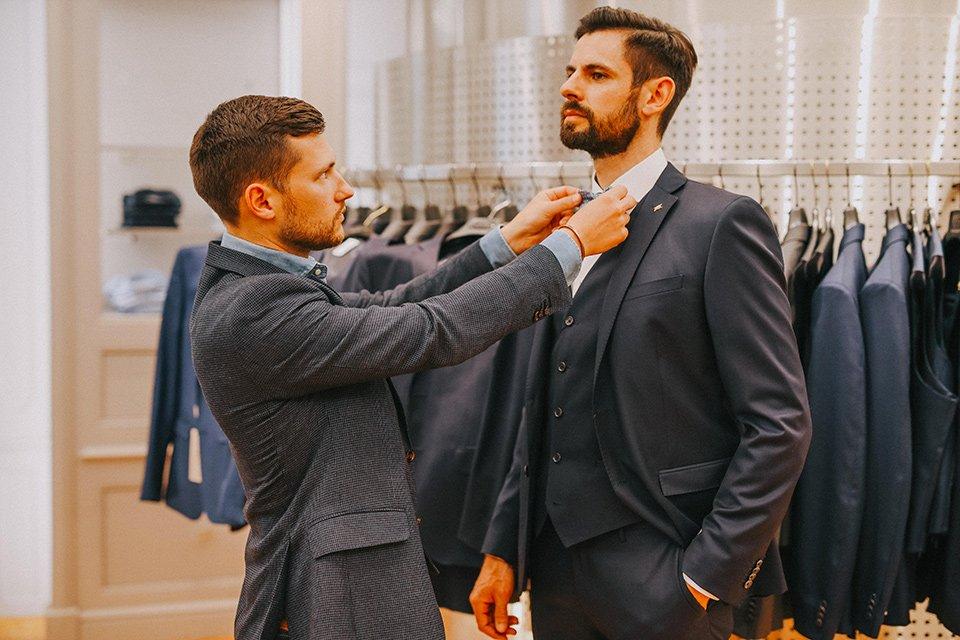 Mariage service personnal shopper