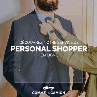 offre personal shopper cuc