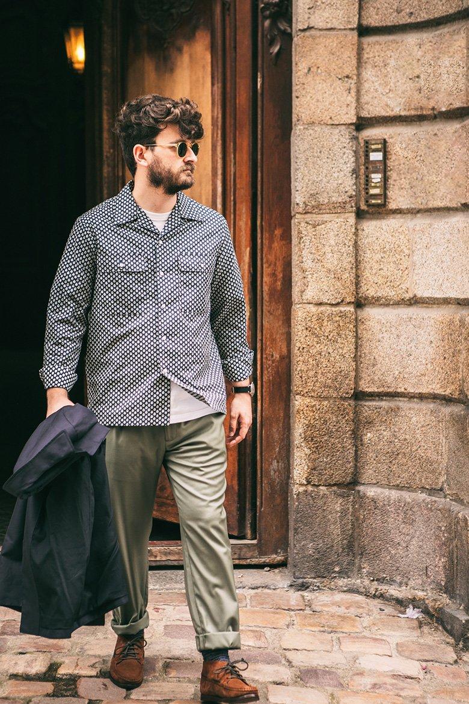 pantalon noyoco olive
