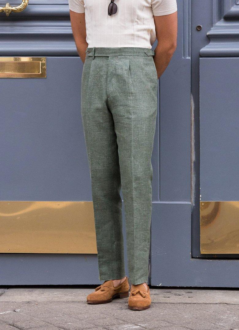 pantalon scavini pince