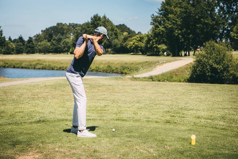 polo uniqlo look golf