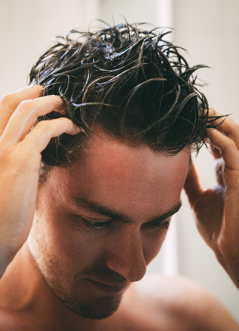 shampoing hommes dabord cheveux
