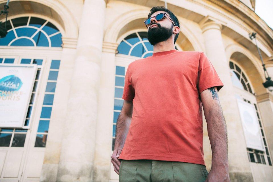 T-shirt Atelier Brique Contre plongée