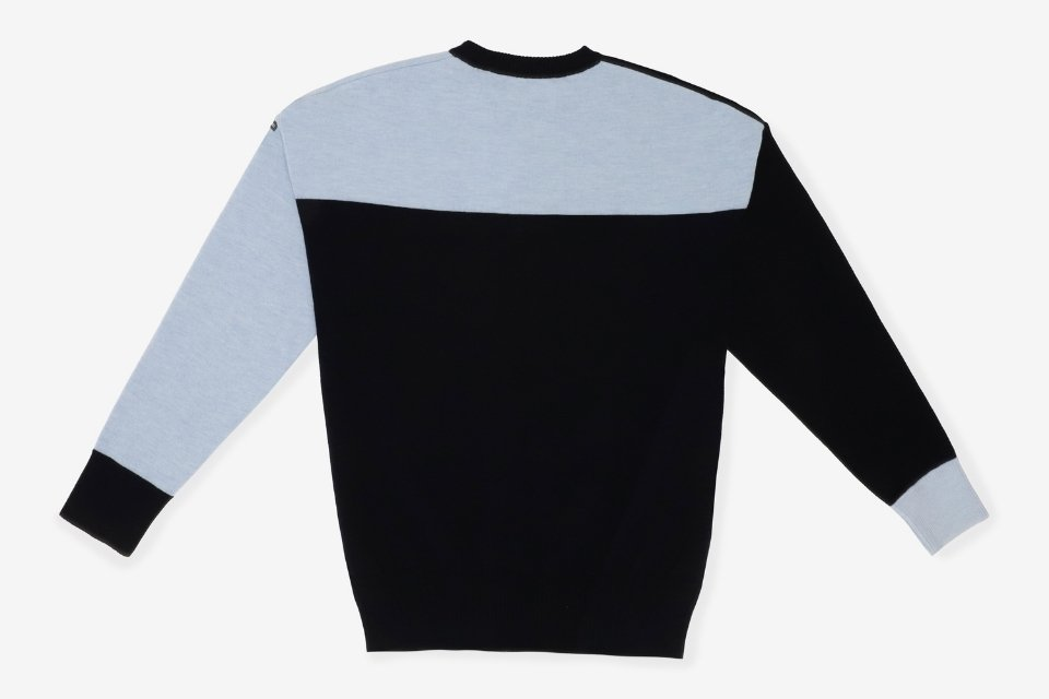 collaboration caval x saint james sneakers sweat sweat dos