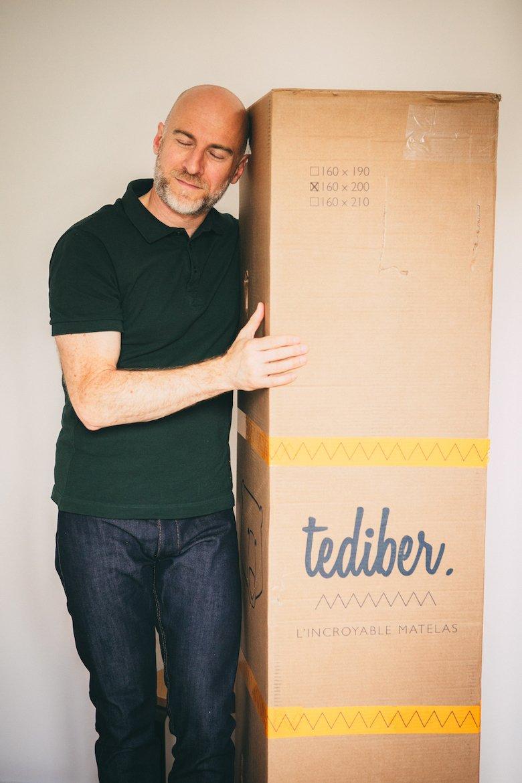 Matelas Tediber carton vertical 2