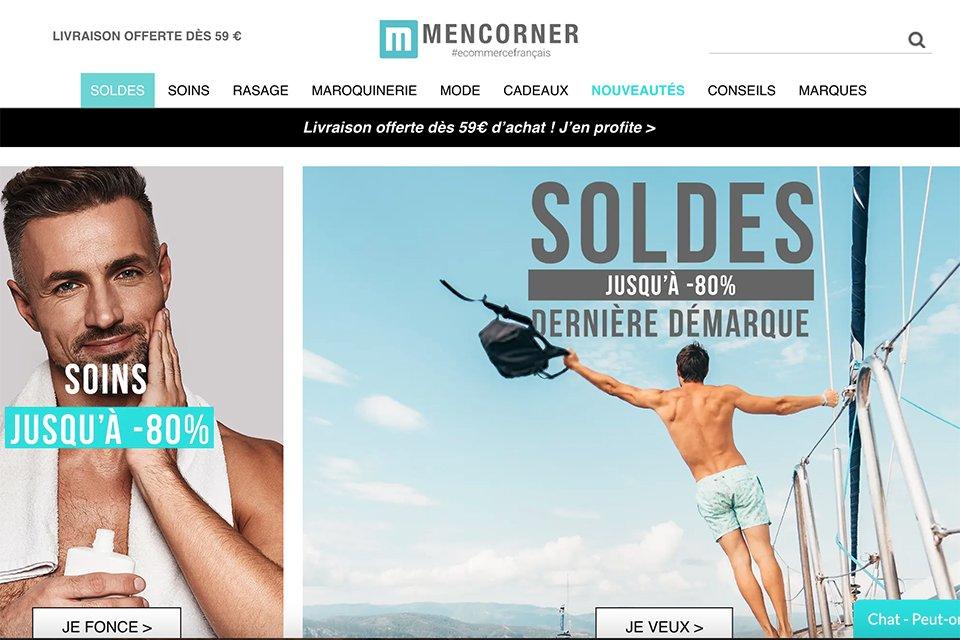men corner cosmetique