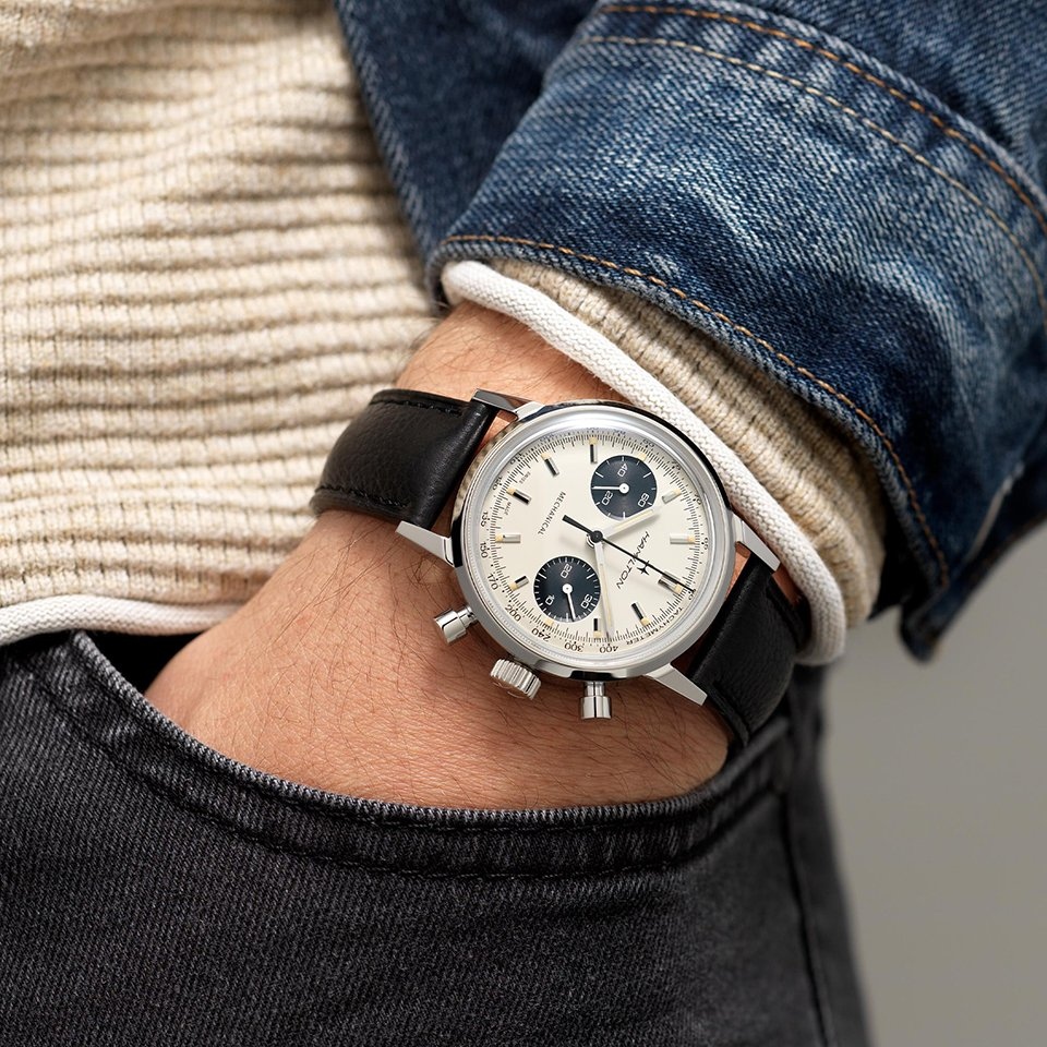 montre hamilton intra matic chronograph h portee article