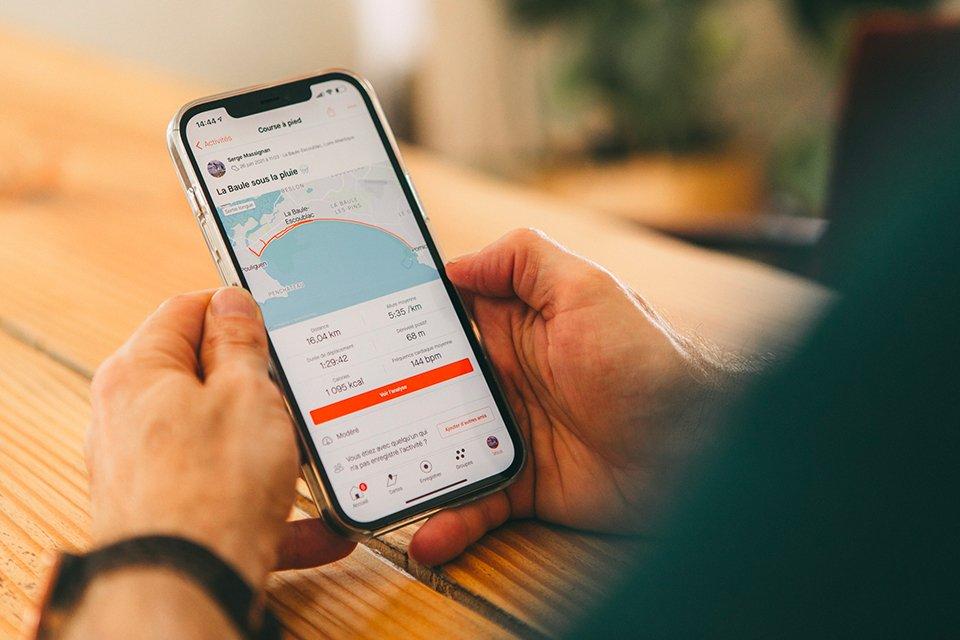 Plan entrainement marathon application mobile