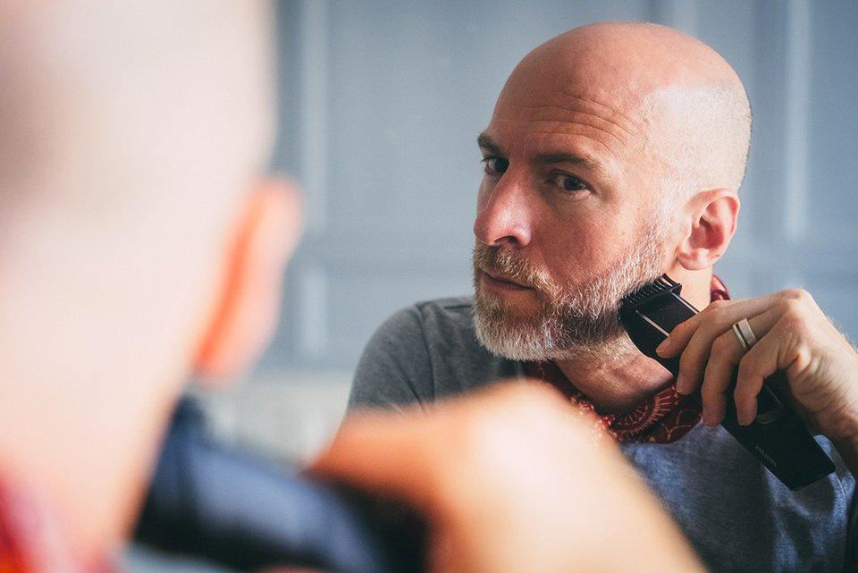 barbe homme rasoir