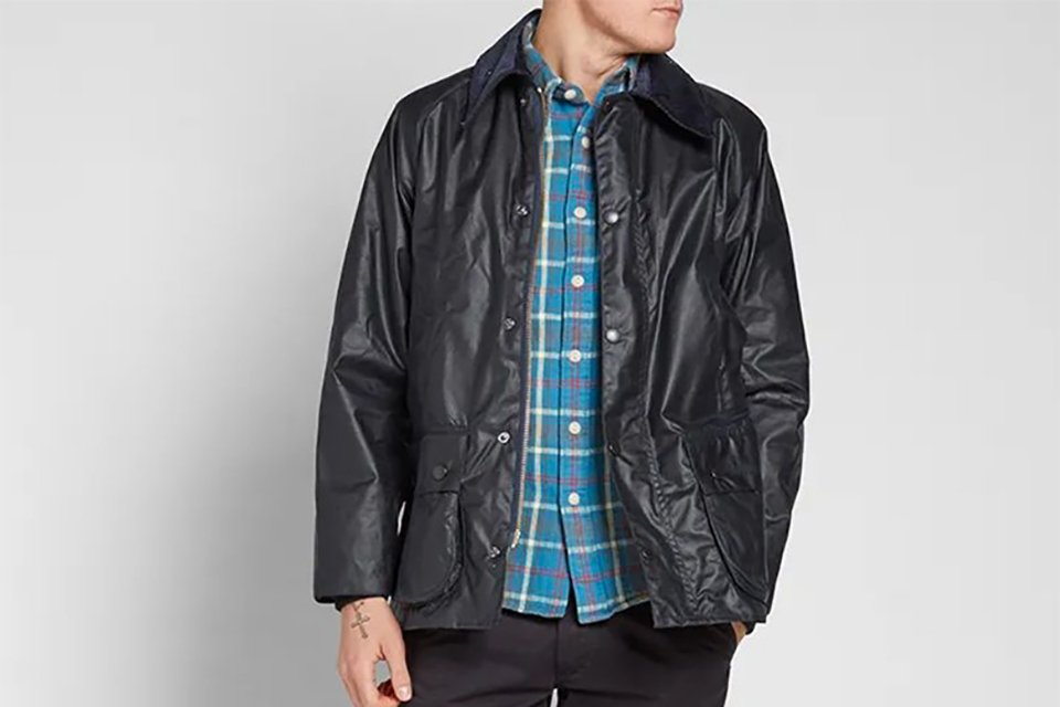 barbour bedale taille