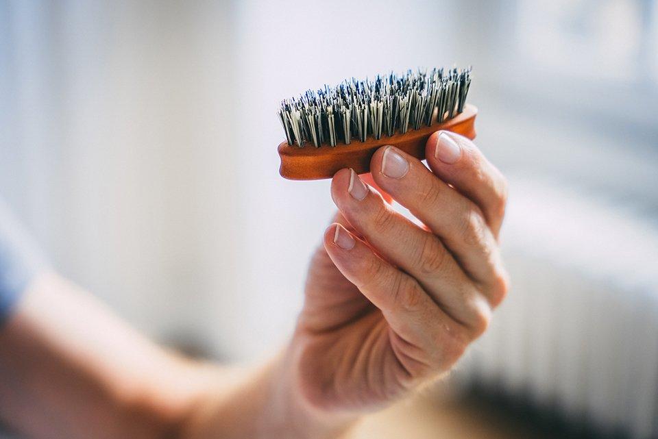 brosse soin barbe