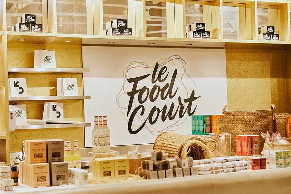 galeries food court