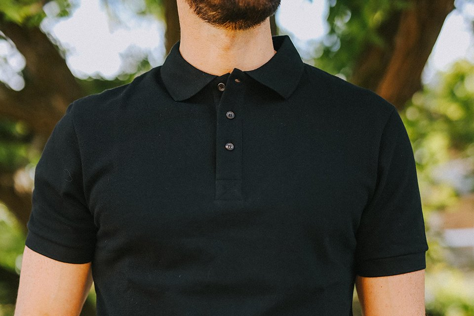 guide des tailles polos homme