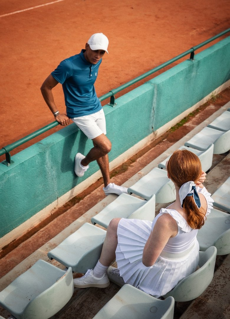 ligne vetemetns tennis gradins