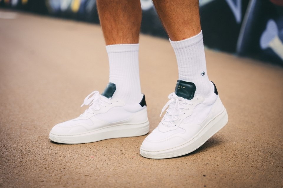 look complet streetwear sneakers chaussettes