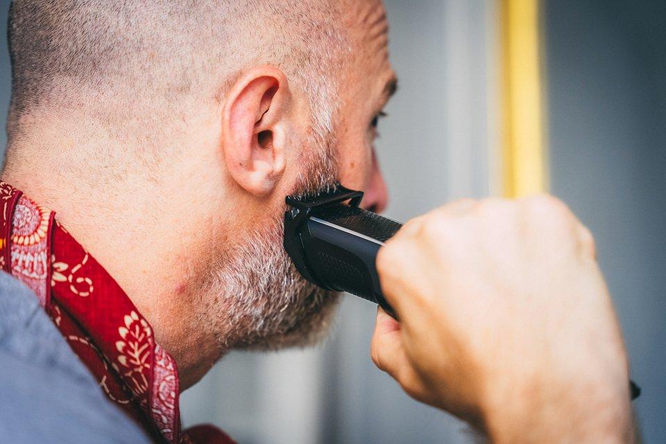 rasoir homme barbe
