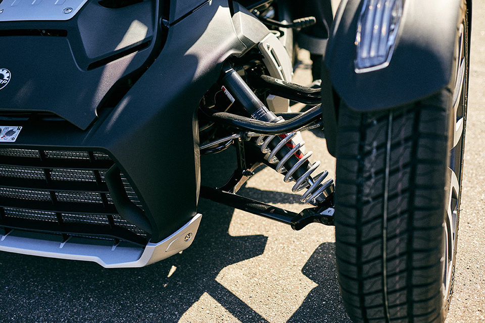 can am ryker 900 rally suspensions