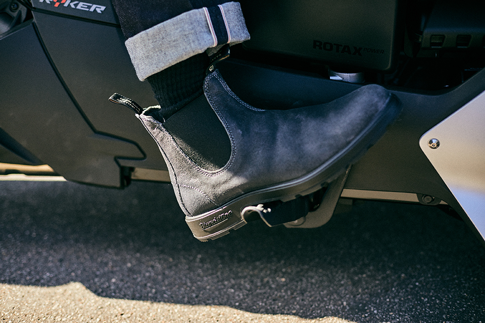 chelsea boots blundstone 1910 suede grise
