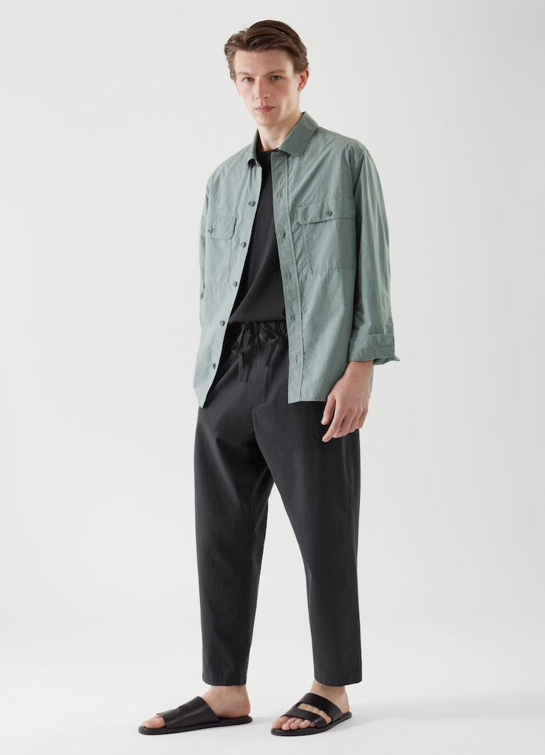 cos-chemise overshirt