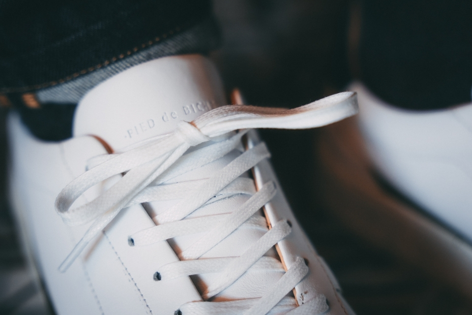 test basket pied de biche vasco focus lacets