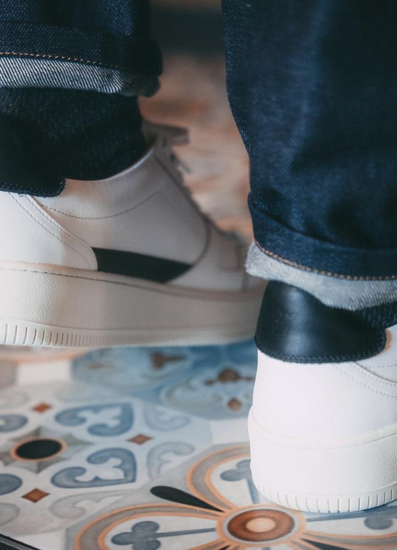 test basket pied de biche vasco focus talon