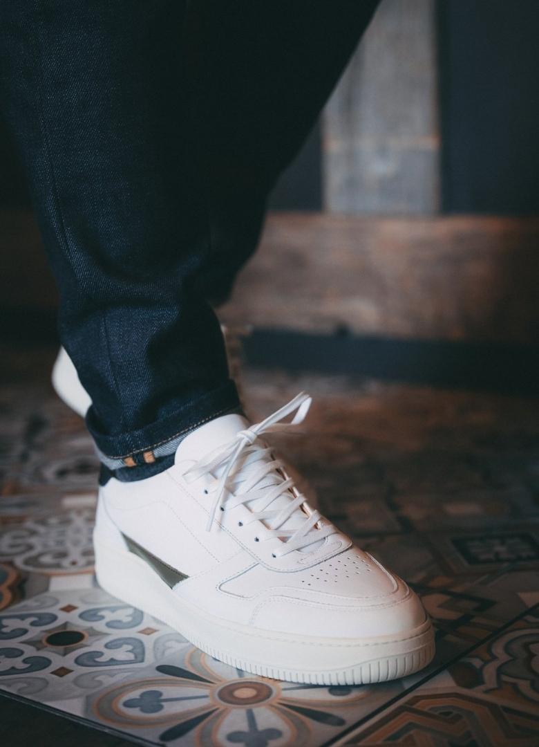 test basket pied de biche vasco on feet