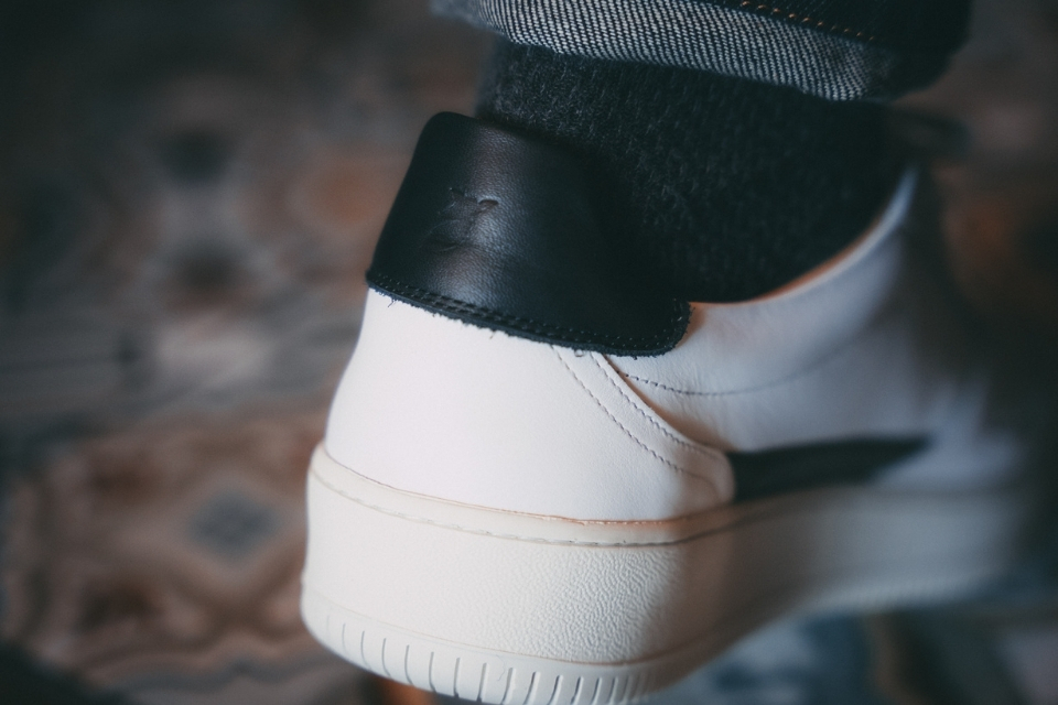 test basket pied de biche vasco talon