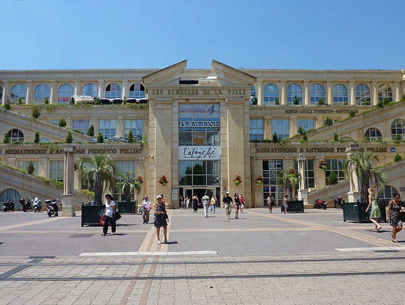 Galeries Lafayette Devanture Montpellier