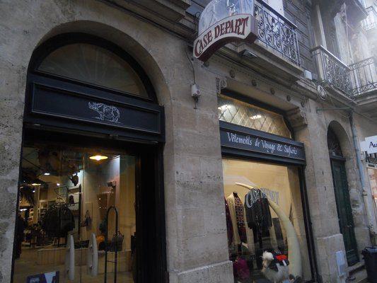 Case Départ Vitrine Bordeaux
