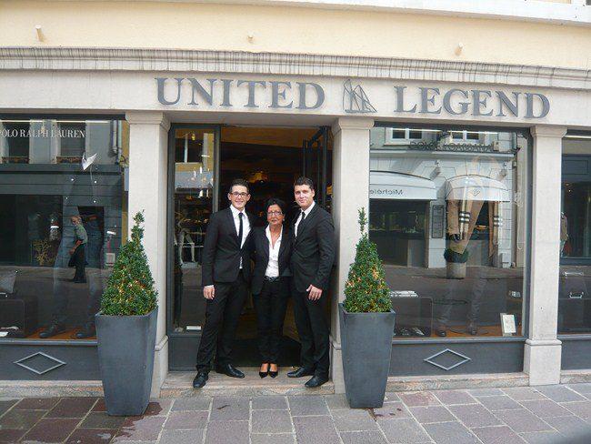 United Legend Vitrine