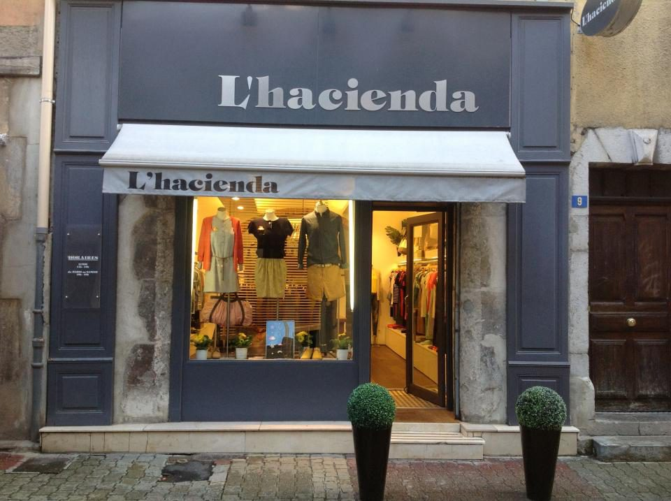 L'hacienda Devanture Grenoble