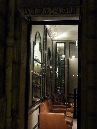 L'Atelier Du Chausseur Devanture Bordeaux