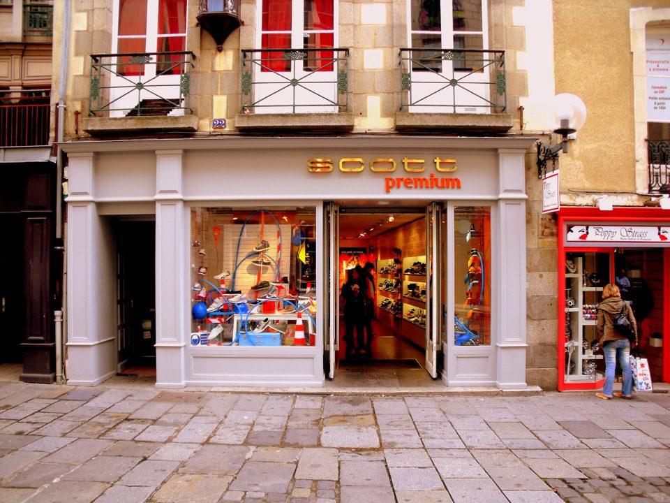 scott premium rennes façade boutique