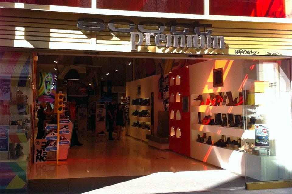scott premium nantes façade boutique