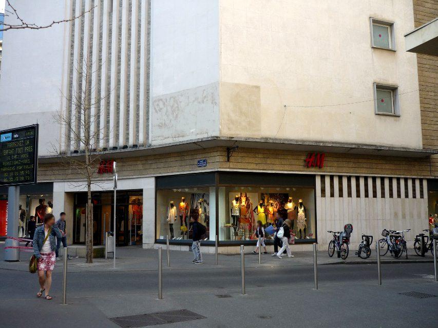 H&M nantes vitrine